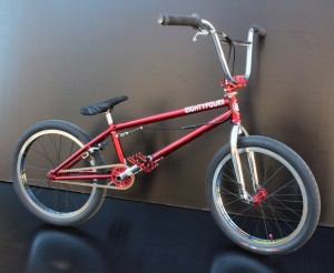 EF BIKE ROUGE